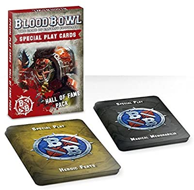Blood Bowl The Game of Fantasy Football Special Play Cards - Hall of Fame Pack by Games Workshop