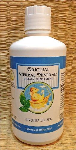 Original Herbal Minerals (32 oz Bottle) - Liquid Multivitamin, Calcium, Trace Minerals, and More. by TriLight Health