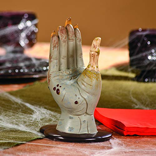 Zombie Hand Napkin Holder - Zombie Party or Halloween Decor Decoration ()