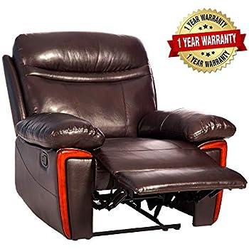 Amazon Com Merax Massage Recliner Pu Leather Lounge With