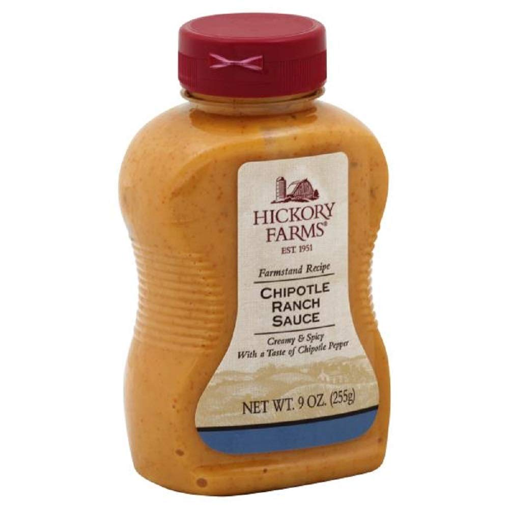 Hickory Farm Chipotle Ranch Sauce New, 9 oz