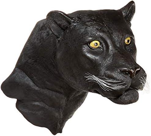 Design Toscano Shadow Predator Black Panther Wall Sculpture