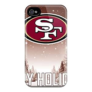 Leeler Iphone 5CHybrid Tpu Case Cover Silicon Bumper San Francisco 49ers