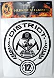 The Hunger Games Movie Vinyl Decals - District 12