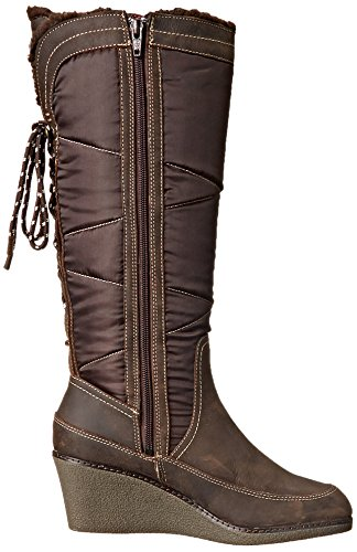 Hush Puppies Womens Hilde Hyde Snow Boot Marrone Scuro