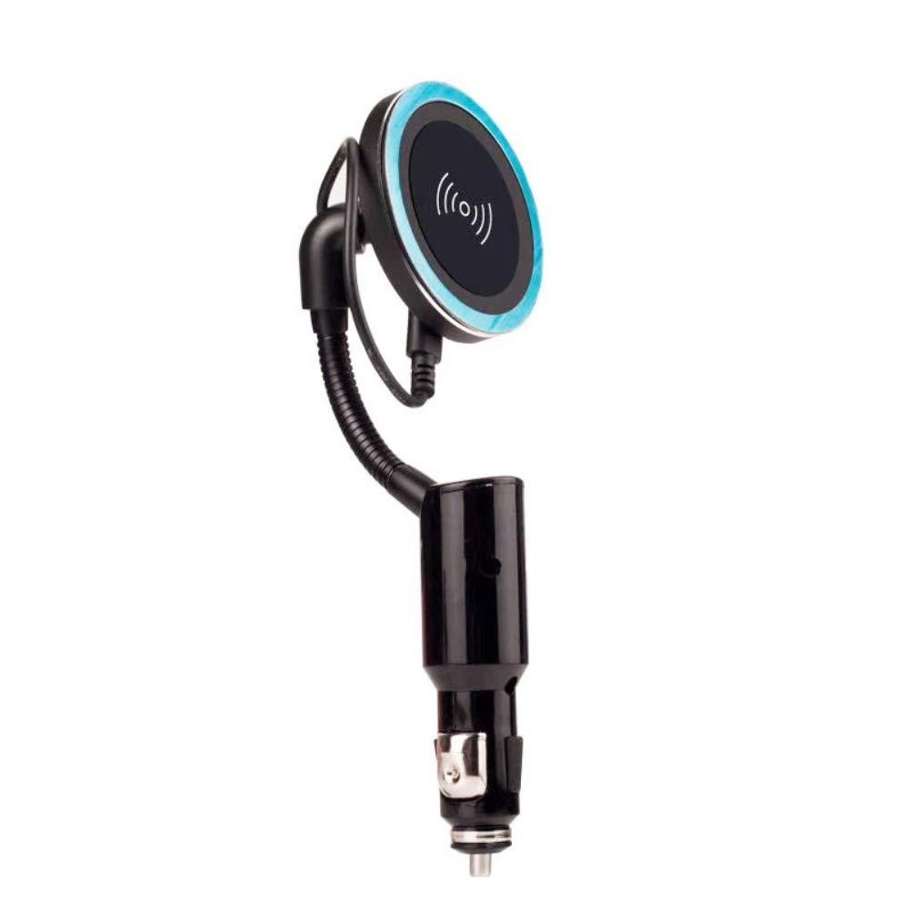 Auto USB Zigarettenanz/ünder Qi Wireless Phone Charger Halter Magnetic Charging Pad Schwarz Nevter359 Kfz-Ladeger/ät mit magnetischer Kfz-Luftauslasshalterung Universeller Typ