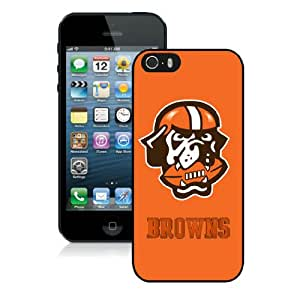 Iphone 5S Protective Skin Case Cleveland Browns 11_iPhone 5 5S Black Phone Case Cover 21099