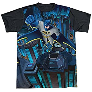 Trevco Men's Batman Unlimited Cityscape Sublimated Adult T-Shirt at Gotham City Store