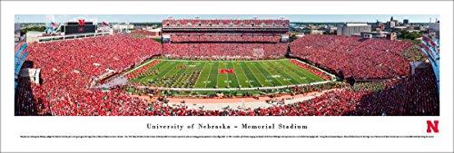 Nebraska Cornhuskers Football - 50 Yard - Blakeway Panoramas Unframed College Sports Posters