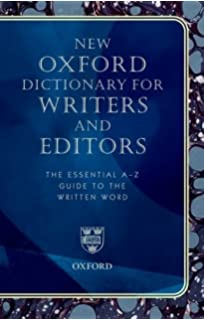 Amazon new harts rules the handbook of style for writers new oxford dictionary for writers and editors the essential a z guide to the written word fandeluxe Images