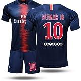 LISIMKE Soccer Team 2018/19 PSG Neymar JR #10 Kid Youth Replica Jersey Kit