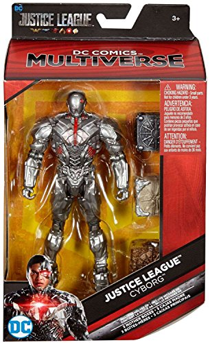 Which are the best justice league multiverse action figures cyborg available in 2019?
