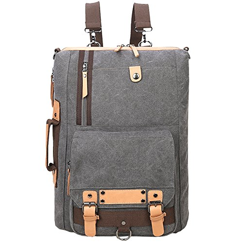 Travel Outdoor Computer Backpack Laptop bag small(darkgrey) - 4