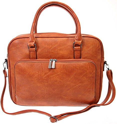 JGL , Borsa Messenger  marrone marrone