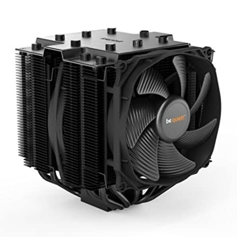 57a5037d778 BE QUIET Dark Rock Pro 4 135 mm Silent Wings Fan CPU Cooler - Black   Amazon.co.uk  Computers   Accessories
