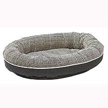 "Bowsers Designer Orbit Dog Bed, Herringbone, Large 42""x32"""