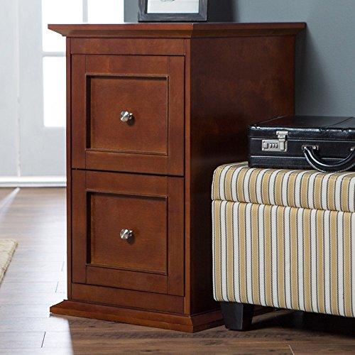 Belham Living Hampton 2-Drawer Wood File Cabinet - Cherry