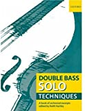 img - for Double Bass Solo Techniques: A book of orchestral excerpts book / textbook / text book