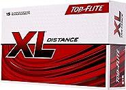 Top-Flite 2019 XL Distance Golf Balls - 15 Pack (Renewed)