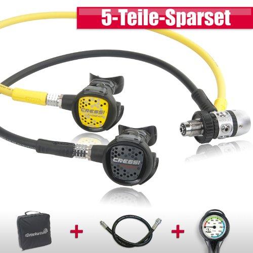 Cressi Ate,mregler Basic Set XS Compact AC-2 - perfekt für den Urlaub