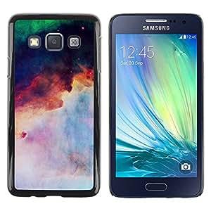 Paccase / SLIM PC / Aliminium Casa Carcasa Funda Case Cover para - Cosmos Space Nebula Inspiring - Samsung Galaxy A3 SM-A300