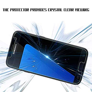 Compatible Samsung Galaxy S7 Tempered Glass Screen Protector,9H Hardness Case Friendly Screen Protector Compatible Galaxy S7 3 - Pack