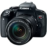 Camera Canon EOS T7i com Lente EF-S 18-135mm f/3.5-5.6 IS STM