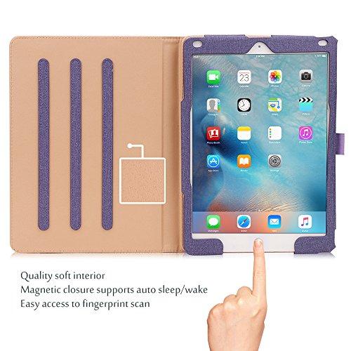 Buy magnetic ipad purple