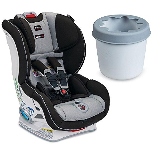 Britax - Boulevard ClickTight Convertible Car Seat with Cup Holder - Metro