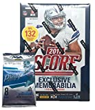 #1: 2017 NFL Score Football Cards Factory Sealed Panini Retail Box! BONUS PACK INCLUDED!