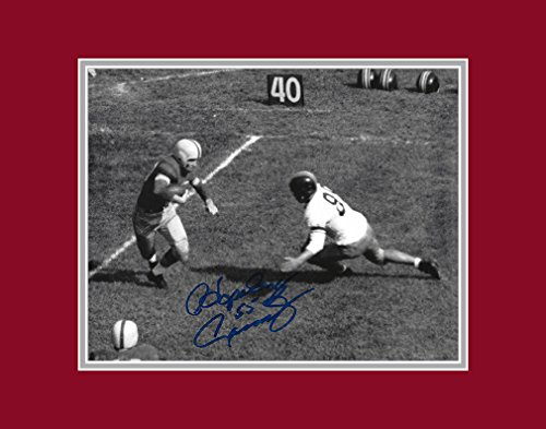 Hopalong Cassady Autographed Ohio State Buckeyes 8x10 Photograph with Mat - Made Ya Miss - Certified Authentic -...
