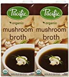 Pacific Natural Foods Organic Mushroom Broth - 32 oz - 2 pk