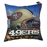 "San Francisco 49ers NFL Photo Real Toss Pillow (18x18"")"""