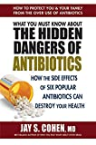 #9: What You Must Know About the Hidden Dangers of Antibiotics: How the Side Effects of Six Popular Antibiotics Can Destroy Your Health