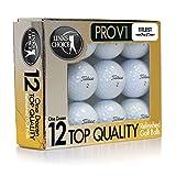 Titleist Pro V1 Refinished Golf Balls (Pack 12)