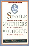 Single Mothers by Choice: A Guidebook for Single Women Who Are Considering or Have Chosen Motherhood