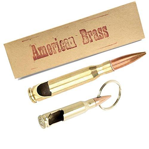 Caliber Bullet Bottle Opener Combo