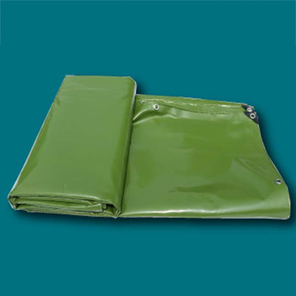 ZZHF pengbu Plane, Outdoor-Truck wasserdicht und regendicht Sonnencreme tragen Plane PVC-Messer Schaber Tuch (Farbe   Armeegrün, größe   2m3m)