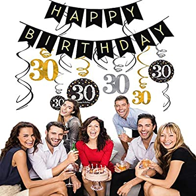 Decoracion Cumpleaños de 30 Cumpleaños Para 30 Cumpleaños ...
