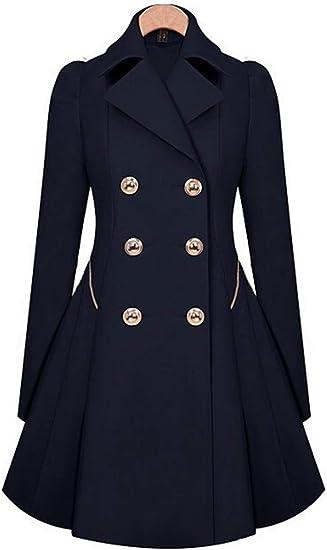 AURNEW Womens Autumn and Winter Zipper Warm Jacket