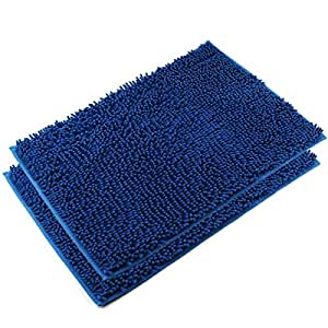 Amazon.com: Vdomus Absorbent Microfiber Bath Mat Soft