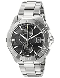 Tag Heuer Aquaracer Chronograph Automatic Black Dial Stainless Steel Mens Watch CAY2110.BA0927