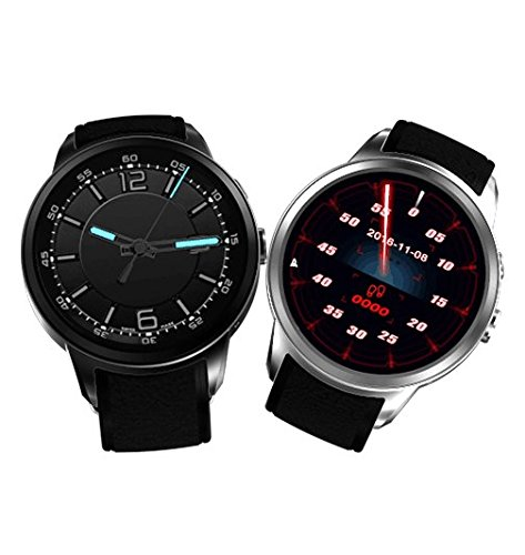 X200 Android 5.1 Smart Watch Phone 3G wifi Nano SIM Card MTK6580 512MB/8GB Heart Rate Monitor Smartwatch with 2.0 Camera (Z10 Camera)