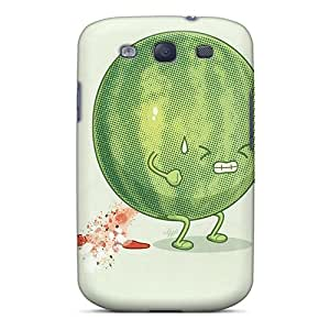 LAZO Diamond Case Cover For Galaxy S3 - Retailer Packaging Watermelon Protective Case