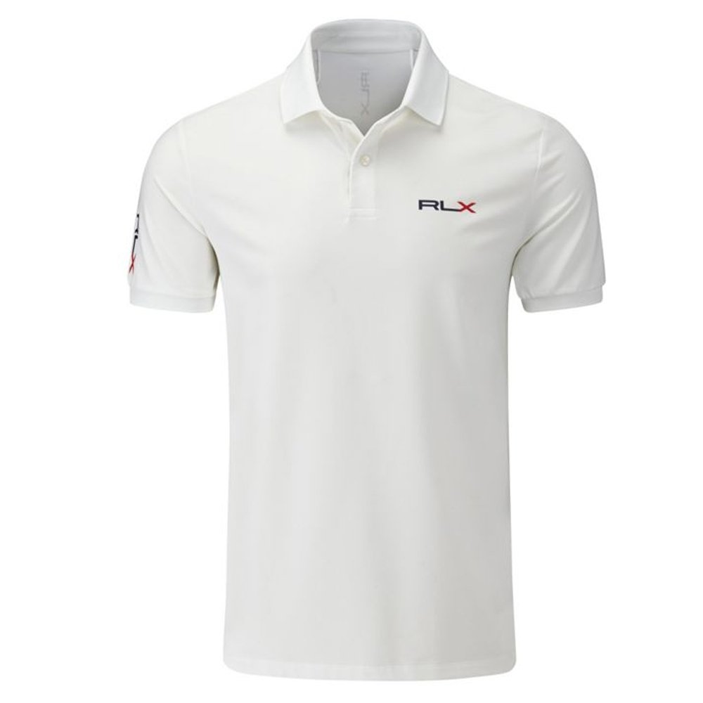 Polo Ralph Lauren Rlx Golf Slim Fit Solid Polo White At Amazon