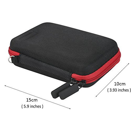 Ewolee Portable Coil DIY Tool Sets Case Mini Coil Kbag Tools Bag Carry Case for Coils, Tanks, Mods Bottles Coil Supplies and Other Accessories, Black(Case Only)