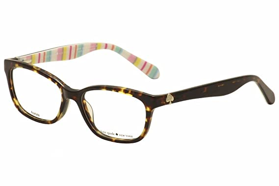 bc4c5a97f168 KATE SPADE Eyeglasses BRYLIE 0RNL Havana Multi 52MM at Amazon Men's ...