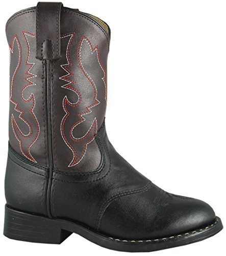Smoky Mountain 1110 Boy's Diego Boot, Black/brown, 11 M US Little - Boys Cowboy Kids Boots