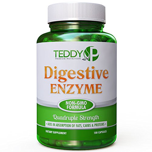 KLEENIQ Digestive Enzymes-Non-GMO Formula- The Best Digestive Enzymes Supports Proper Digestion-Get Your Digestive Enzyme Supplements Now! You Deserve To Get Healthy!
