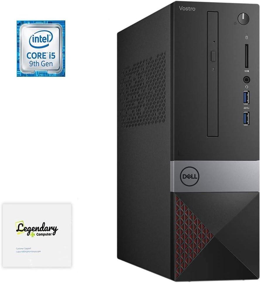 2020 Dell Vostro Small Business Desktop, Intel Core i5-9400 6-Core Processor up to 4.1GHz, 32GB RAM, 512GB SSD, 2TB Hard Drive, HDMI, VGA, DVD-RW, Windows 10 Pro, Keyboard, Mouse & Legendary Mousepad